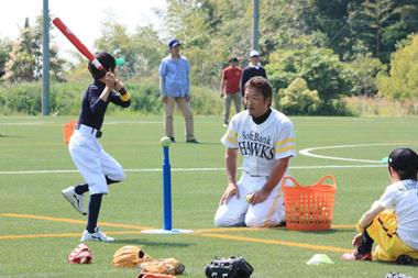 ディスカウントドラッグコスモス「みんなの夢を応援!野球教室」