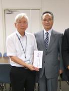 宮崎県「口蹄疫」被害に対する義捐金寄託