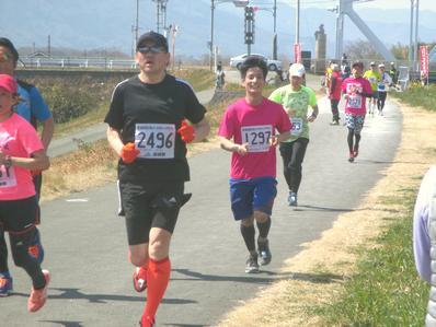 吉野川市リバーサイドハーフマラソン